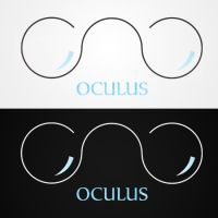 OCULUS logotype by the-wabbit