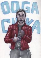 Star Lord in Marker by Jace-Mereel