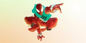 Scarlet spider by skoRoks