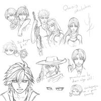 Oasis Sketches by Zac-K