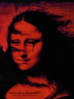 mona lisa red by Peace4all