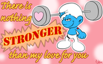 Nothing is stronger by Shini-Smurf