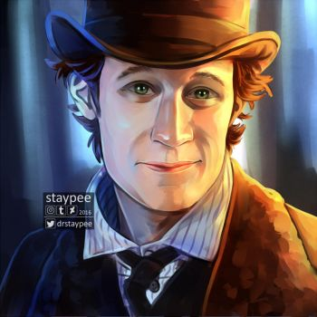 Eleven, The Snowmen screencap paintover by staypee