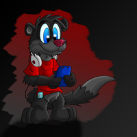 Magnus the Ferret by Hukley