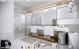 Bathroom by GuiTuX
