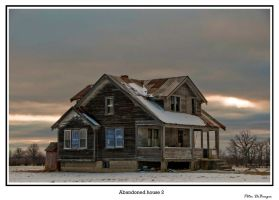 Abandoned house 2 by PeterDeBurger