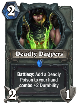 Deadly Daggers by Drakesonofthedragons