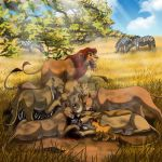 The Lion King - Freshly-Speared Lunch by JR-Julia