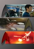 STAR TREK SCENES POSTER by tanman1