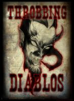 logo for the throbbing diabos by jesselindsay