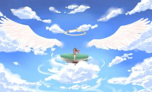 Going to Heaven by Yvanya