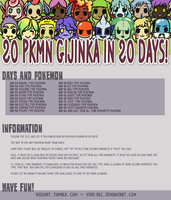 Challenge: 20 Gijinka in 20 Days by Vixie-Bee