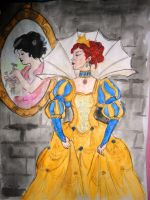 Snowhite's stepmother by DaughterGothel