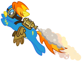 Steampunk Spitfire by Gratlofatic