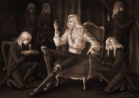 Der Tod and his retinue by sai-ansata