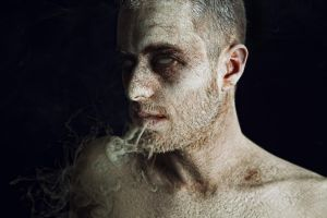 Portrait of Decaying Man by Bea-Sniper