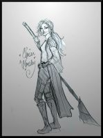 Chaser Weasley by Hillary-CW