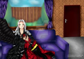 Sephiroth and Vincent by Draakedan