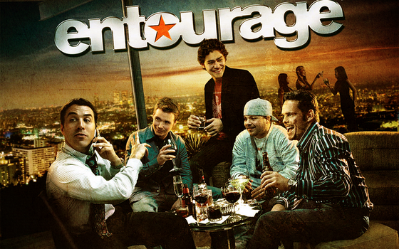 Entourage Wallpaper by lessxthanxthree