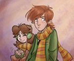 Ron and Herm-oh-ninny by hanime87