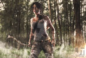 Lara in Rain by jaytablante