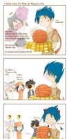 A b'day cake for Mike. by maguro-chan