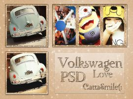 Volkswagen Love PSD by CattaHappySmile