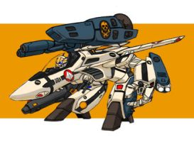 VF-1S Gerwalk by Tom107