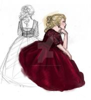 Ball gown by ThroughMyThoughts