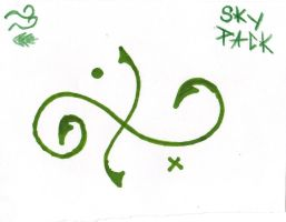Sky Pack Emblem by Koi-Winters