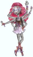 Monster High Daughter of Arachne by cammie3267