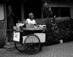 Fruit Seller by wilmil