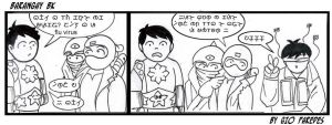 Baybayin Comic strip no.2 by Akopito