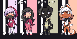 Lazy Adopts by weweameme