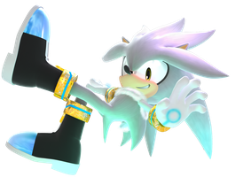 Silver the Hedgehog by Cyberphonic4D