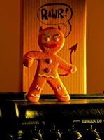 Gingy gone Wild by graphyxiation
