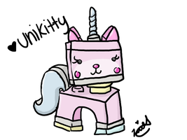 Unikitty by leeleecalgirl
