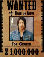 Gokai Blue Wanted Poster by ZanderYurami