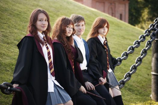 We are from Hogwarts by GrangeAir