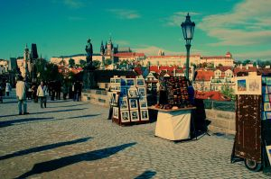 prague charles bridge by StillWilde