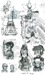 the sketchitude by Qsy-and-Acchan