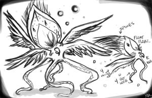 spiked octo bird by TentacleF00