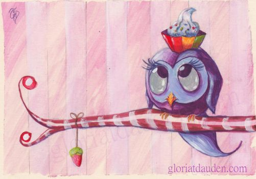 Sweet Owl by Gloria-T-Dauden