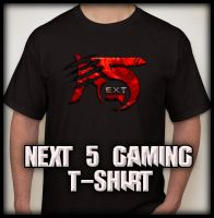 Next 5 Gaming TSHIRT by PrinzEzreal