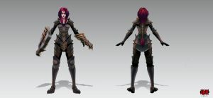 Shyvana_Iron_Scale by The-Bravo-Ray