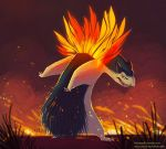 #157 Typhlosion by kiki-doodle