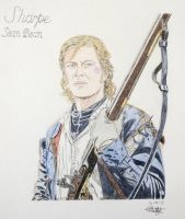 Richard Sharpe (Sean Bean) by Albertinez