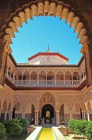 Court in the Alcazar 2 by AgiVega