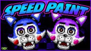 Five Nights at Candys - Candy / Cindy - SPEEDPAINT by GEEKsomniac