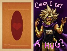 Yami Marik V-Day card by slifertheskydragon
